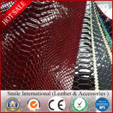 Artificial Leather Synthetic Leather PVC Leather for Shoes for Sofa for Bags