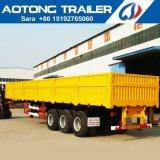 40FT 50tons Bulk Grain Transport Side Panel Cargo Semi Trailer