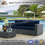 Well Furnir WF-17051 Rattan Sofa with Cushion