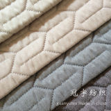 Decorative Home Sofa Fabrics with Quilt Treatment