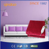 with ETL Certificate 160*130cm Washable Heated Throw Blanket