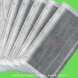 Disposable 4-Ply Nonwoven Activated Carbon Face Mask with Elastic Ear-Loops or Ties