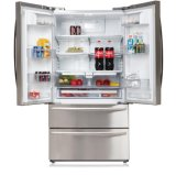 Side by Side Nofrost Refrigerator (with Icemaker, Water Dispenser and Mini Bar)