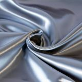 Hot Sale High Quality Custom Color Plain Dyed Solid Color Satin Drapery Fabric