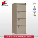 Vertical 4 Drawer Storage File Cabinet