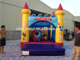 Mini Inflatable /Inflatable Jumper Commercial Winnie The Pooh Bouncer