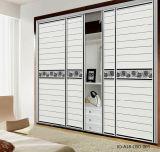 PVC Shutter Series Sliding Door for Modern Closet (JO-A18-CBO-003)