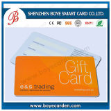 PVC Plastic Membership Gift Card with Free Signature Panel