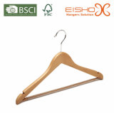 Garment Usage Beech Wood Clothes Hanger (MP632)