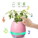Bluetooth Smart Music Flower Pot with LED Light