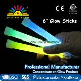 "6"" Light Sticks Ultra Bright Glow"