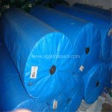 Blue Tarpaulin Fabric in Roll for Covering