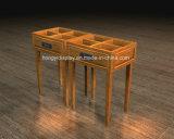 Wooden Veneer Display Rack, Display Table