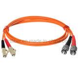 LC-FC Mm Duplex Fiber Optic Patch Cord