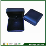 Blue Plastic LED Light Jewellery Box for Packing