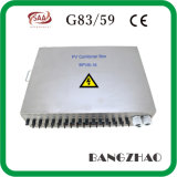 China Supplier Nonrust Steel Model 16 String Solar Inputs Lightning Protection PV Combiner Box