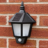 2016 Classics Outdoor Solar LED Waterproof Wall Light with PIR