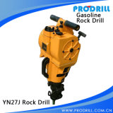 Hand Held Gasoline Rock Drill for for Breaking Percussive Drilling