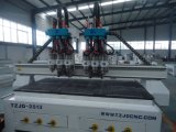 Multi Heads Wood CNC Router Machine for Wooden Sculpture