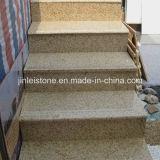 Polished G682 Rusty Yellow Granite Stair Treads & Riser