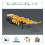 3 Axles Skeleton Container Trailer for Hot Sale
