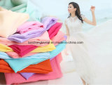 Polyester Chiffon Fabric for Skirt Scarf