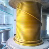 PVC Coated Galvanized Steel Wire Rope 7X7