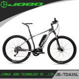 """2017 Jobo Newest 29"""" Wheel European Men 9 Speed Electric MID Drive Mountain Bike 48V 350W 500W"""