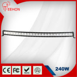 240 Watt 50 Inch Curved Single Row off-Road LED Light Bar for Fleet
