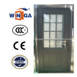 Sunproof High Quality French Style Greycolor Steel Glass Door (W-GS-177B)