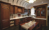 Solid Wood Kitchen Cabinets for America Style House (BR-SA07B)
