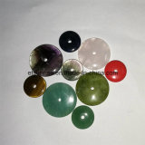 Gemstone Natural Crystal Amethhst Coins with Hole