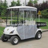 Electric Utility Windshield Golf Cart with Rear Box