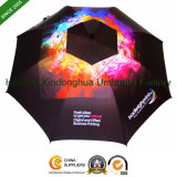 Quality Windproof Fiberglass Gift Golf Umbrella with Customized Digital Printing (GOL-0030FAC)