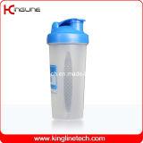600ml Plastic Blender Shaker Bottle with Blender Mixer Ball Inside (KL-7017)