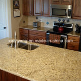 Natural Granite Giallo Fiorito Kitchen Countertop
