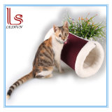 Pet Product Multi-Purpose Corduroy Cat Tunnel / Cat House / Pet Bed