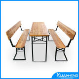 Wooden Beer Folding Furniture Set