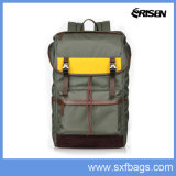 Nylon Waterproof School Laptop Backpack Bag