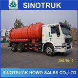 Sinotruk Suction Truck, HOWO 6X4 290HP 15cbm Fecal Suction Truck