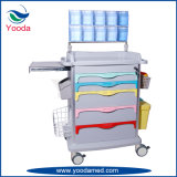 Medical ABS Hospital Products Nursing Emergency Anesthesia Trolley
