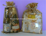 Christmas Organza Gift Bag