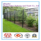 Powder Coating 2.4m Length Wrought Iron Tubular Fence with High Quality