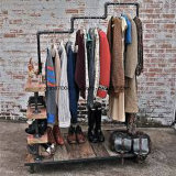 Shop Stainless Steel Metal Display Stand Rack for Clothes