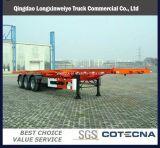 2015 Factory Price Tri-Axle 40ft Container Semi-Trailer