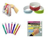 Disposable Tyvek Paper ID Wristband