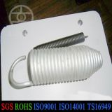 Silver of Lacquer Spiral Shaped Extension Spring