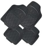High Quality No Smell Two Sides Use Rubber Car Mats with Non Skid Design