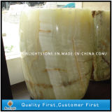 Natural Yellow Onyx Stone Wash Sinks/Basin for Bathroom
