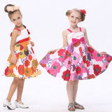 Girl Cotton Dress (2357#)